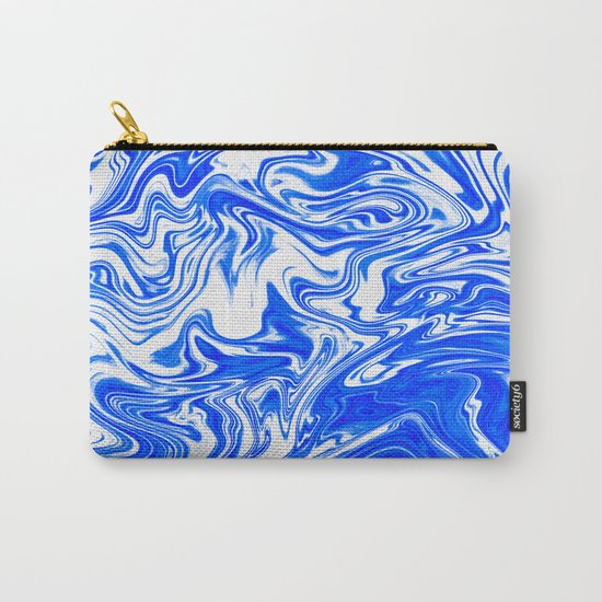 Marbled XX Carry-All Pouch