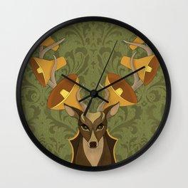 Horns Wall Clock