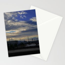 Construction Site, Laval Stationery Cards