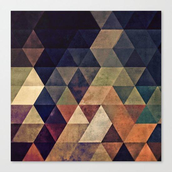 fyssyt pyllyr Canvas Print