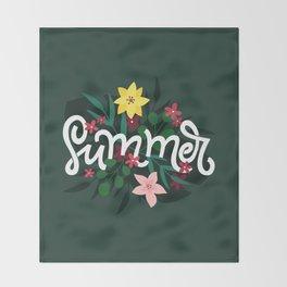 Summer! Throw Blanket
