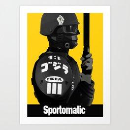 Sporto Propaganda  Art Print