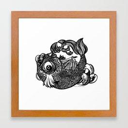 Sailfish Framed Art Print