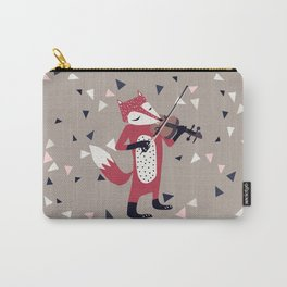 red foxy violinist Carry-All Pouch