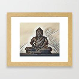 Siddhartha Gautama - Buddha Framed Art Print