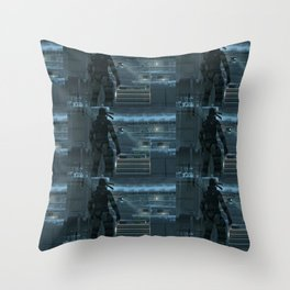 Huh, What's That Noise Metal Gear Solid Throw Pillow