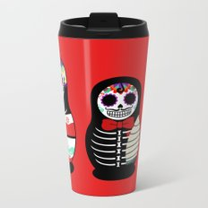 Halloween Russian dolls Metal Travel Mug