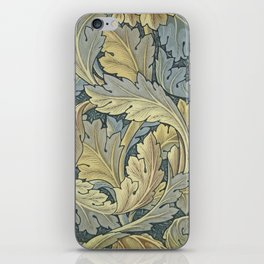 William Morris Acanthus Leaves Floral Art Nouveau iPhone Skin