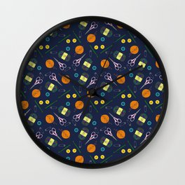 Craft with Me Wall Clock