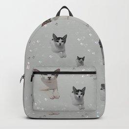 Cats Pattern.   cats, pattern, children, pet, feline, animals, Society6. Backpack