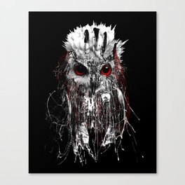 OWL - RED EYE Canvas Print
