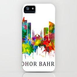Johor Bahru Malaysia Skyline iPhone Case