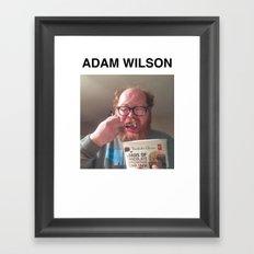 @theleanover Framed Art Print