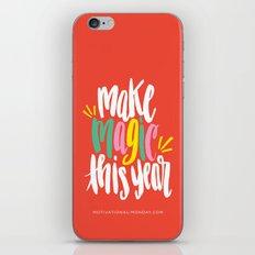 Make Magic This Year iPhone & iPod Skin