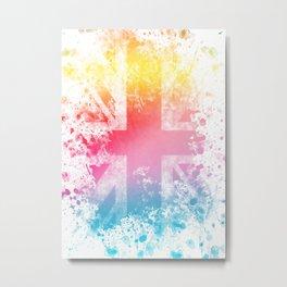 Color Kingdom Metal Print