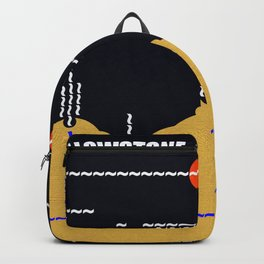 Yellowstone National Park Landscape Backpack