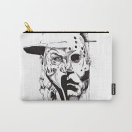 80's Horror Icons Inktober Drawing Carry-All Pouch