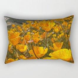 Aye Poppy Rectangular Pillow