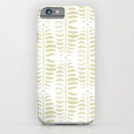 Helecho green iPhone Case