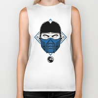 the mortal instruments Biker Tanks featuring Sub Zero - Mortal X by offbeatzombie
