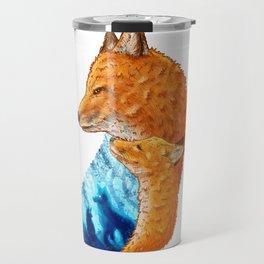 Serene Foxes Travel Mug