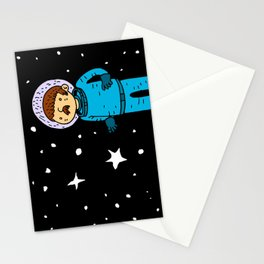 Seventies Astronaut Stationery Cards