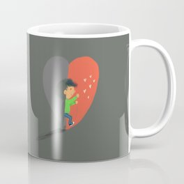 Boy in Love #4 Coffee Mug