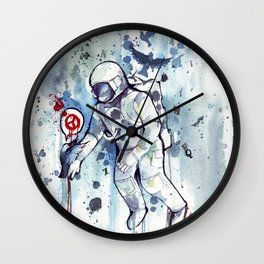 Heretic Astronut Wall Clock