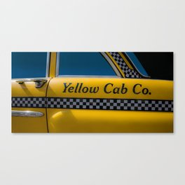 Yellow Cab Co. Canvas Print