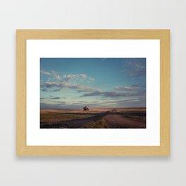 Grain Elevator 16 Framed Art Print