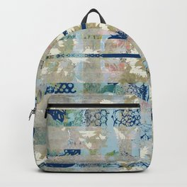 Leaves and stripes Backpack