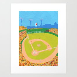 Fenway Park Red Sox - Boston Landmarks Art Print