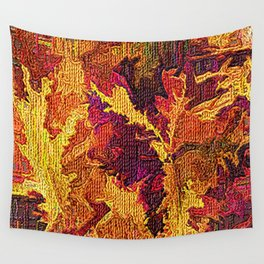 Autumn Abstract Wall Tapestry