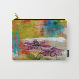 TWO FLOWERS Carry-All Pouch
