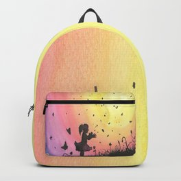 Surrounded By Love / Les Papillons Backpack