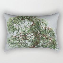 Bonsai Tree- Sawara False Cypress Rectangular Pillow