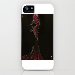 Azzedine. The king of hearts iPhone Case
