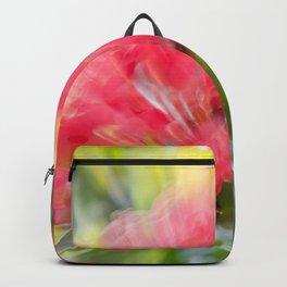Flower Burst - Electric Magenta Backpack