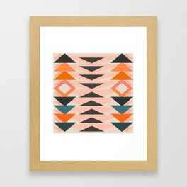 Urban Tribal Pattern 3  #society6 #decor #buyart #artprint Framed Art Print