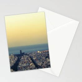 Barcelona view Stationery Cards