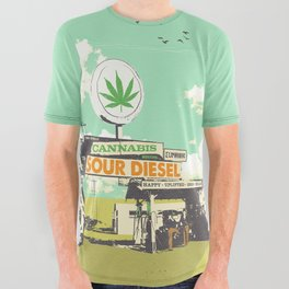 SOUR DIESEL All Over Graphic Tee