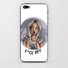F*ck Off iPhone & iPod Skin