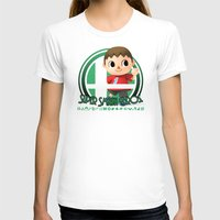 smash bros T-shirts featuring Villager - Super Smash Bros. by Donkey Inferno