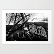 Dashboard Story 01 Art Print