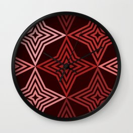 Op Art 159 Wall Clock