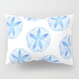 Mermaid Currency - Blue Sand Dollar Pillow Sham