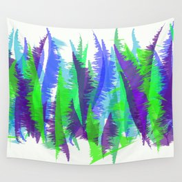Purple and Green Abstract - original design by ArtStudio29 Wall Tapestry