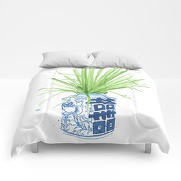 Ginger Jar + Fan Palm Comforters