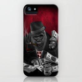 Mafia Of The Ape iPhone Case