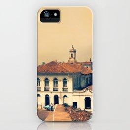 Ouro Preto vintage iPhone Case